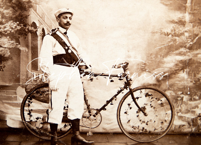 Decorated Bicycle French 1910