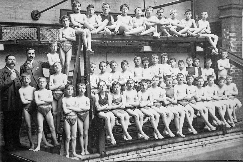 Swimming Lesson 1900