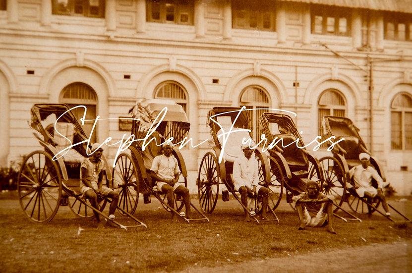 Indian Rickshaw Boys 1930's