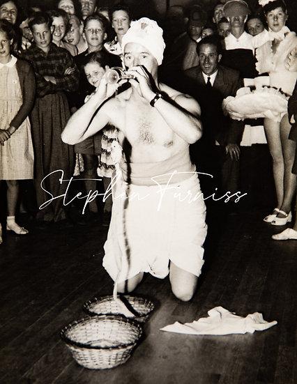 Snake Charmer 1950's