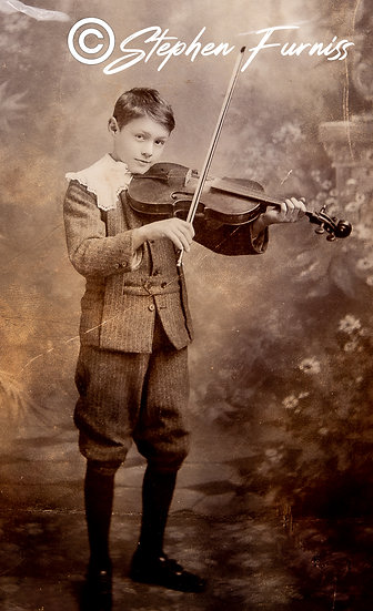 Young Violinist 1905