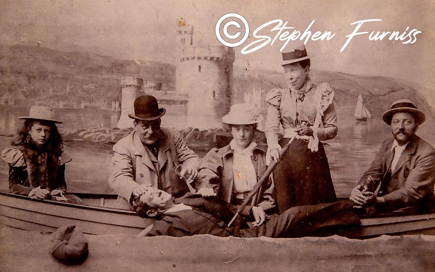 The Rescue Studio Photograph c.1895