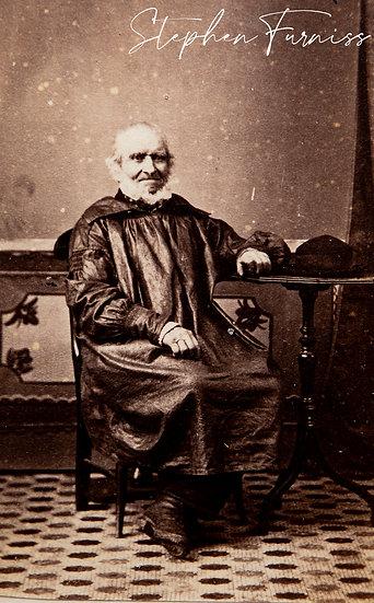 Sussex Glazed Cotton Smock 1870's