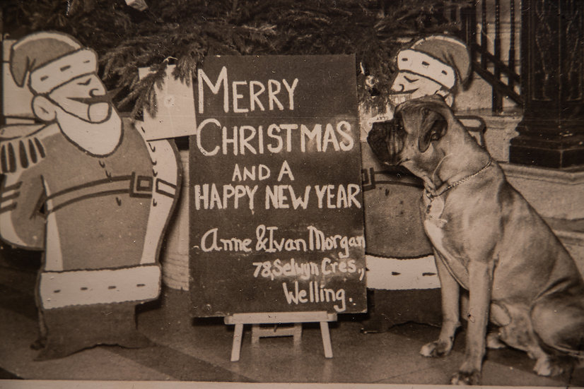 Christmas Card 1960's