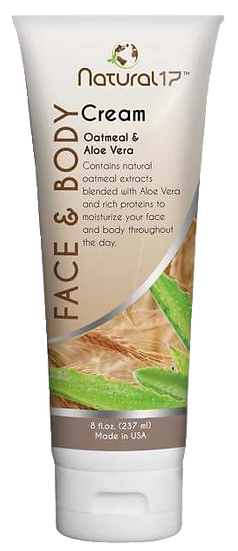 FACE & BODY CREAM.8.FL.OZ