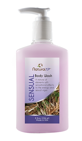 Body wash Sensual. 8 fl oz