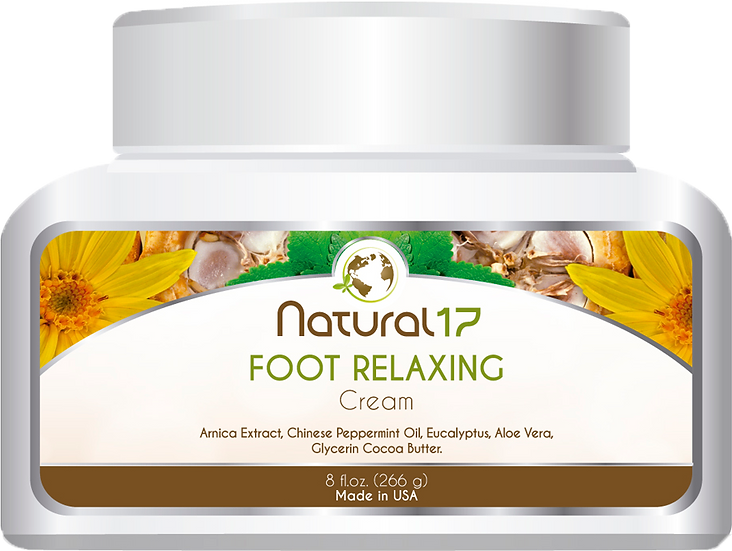 FOOT RELAXING.cream.8floz