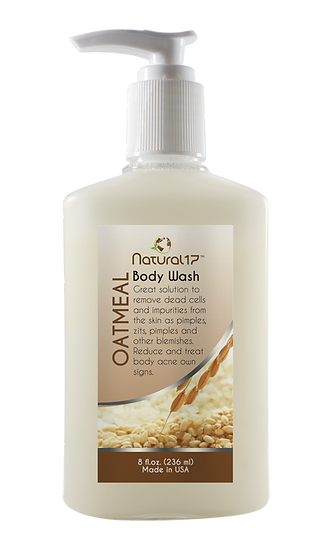 Body wash oatmeal 8 fl oz