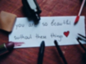 You Are So Beautiful Without These Thing