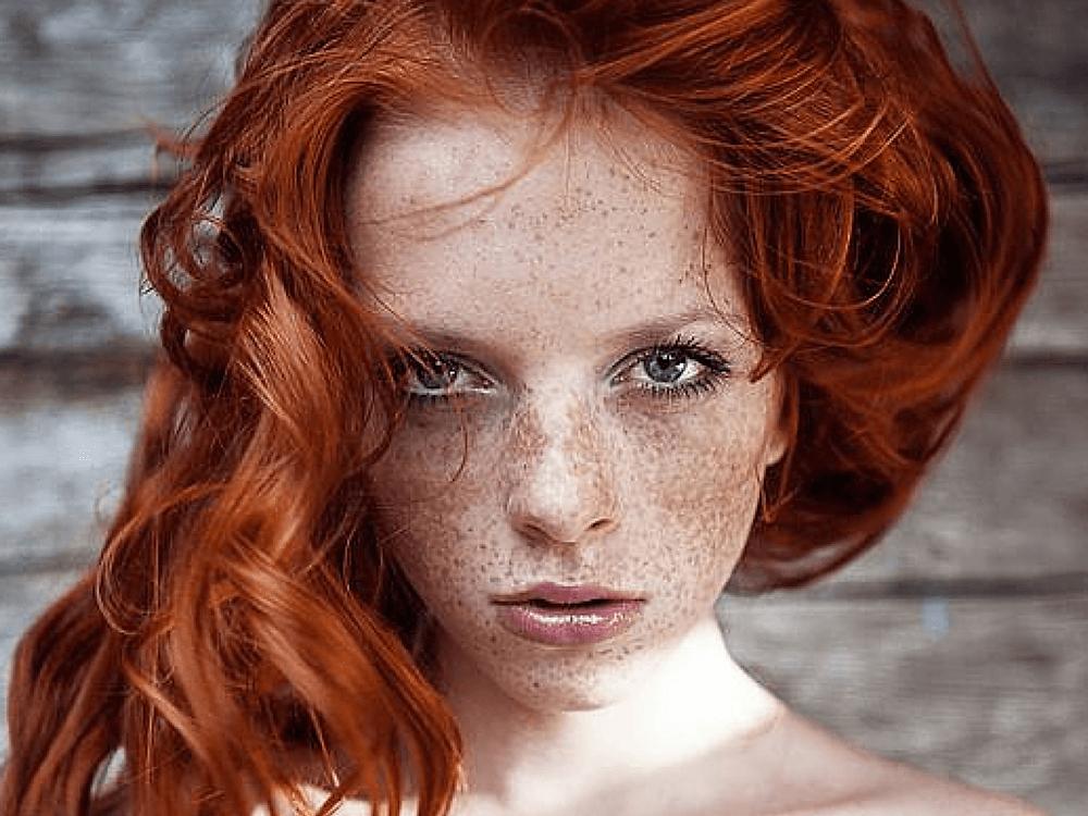 Beautiful redheads, European women