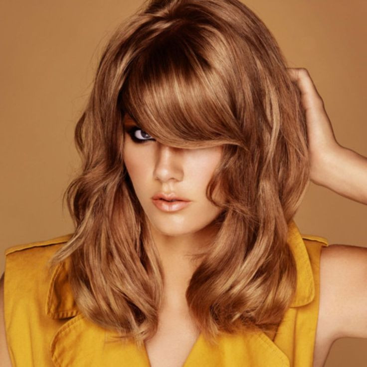 This light brown hair shade has hint of honey color, very similar to caramel brown. But it has more of a brighter hue to it than caramel brown. The honey brown hair look is a very warm and bright color distinct from the red but has compliments of the blonde hue. This color stands out very easily in a crowd! If you've been lucky enough to be blessed with a beautiful shade of hair, such as this: then by all means, rock your natural color. After all, that will most often be your most flattering option.