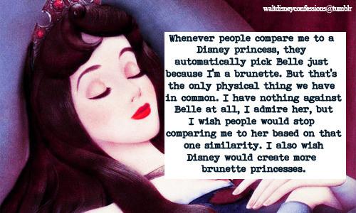 We need more brunette Disney Princesses
