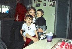 My mother and cousins