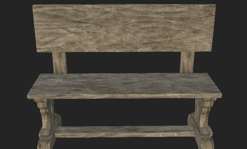 Bench (Rough Wood)