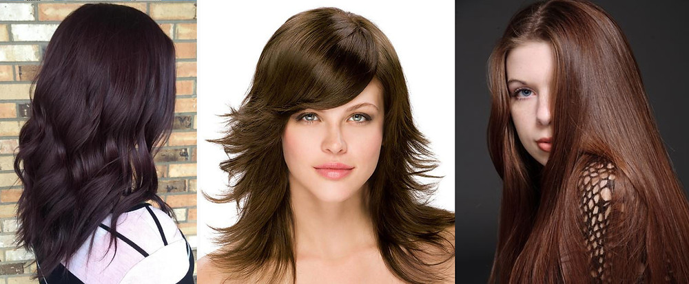 Brown hair is such an ordinary word, and doesn't begin to do justice to the incredible and beautiful range of brunette hair shades. From honey to chestnut to mahogany, the different shades of brown hair are unlimited and truly gorgeous!