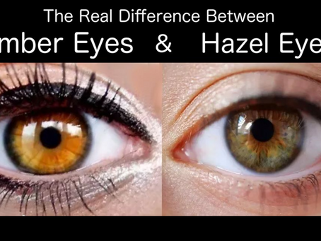 The Real Difference Between Amber Eyes And Hazel Eyes