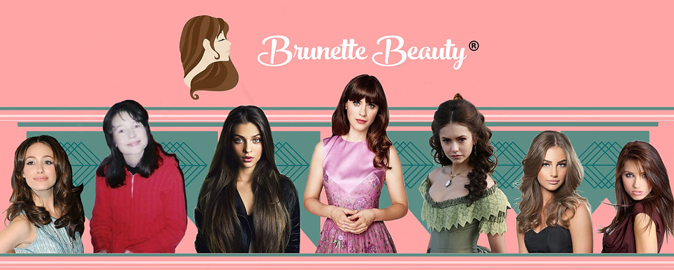 Brunette Beauty Magazine, Brown Hair Colors, Unlimited Dark Hair Shades, European Beauty