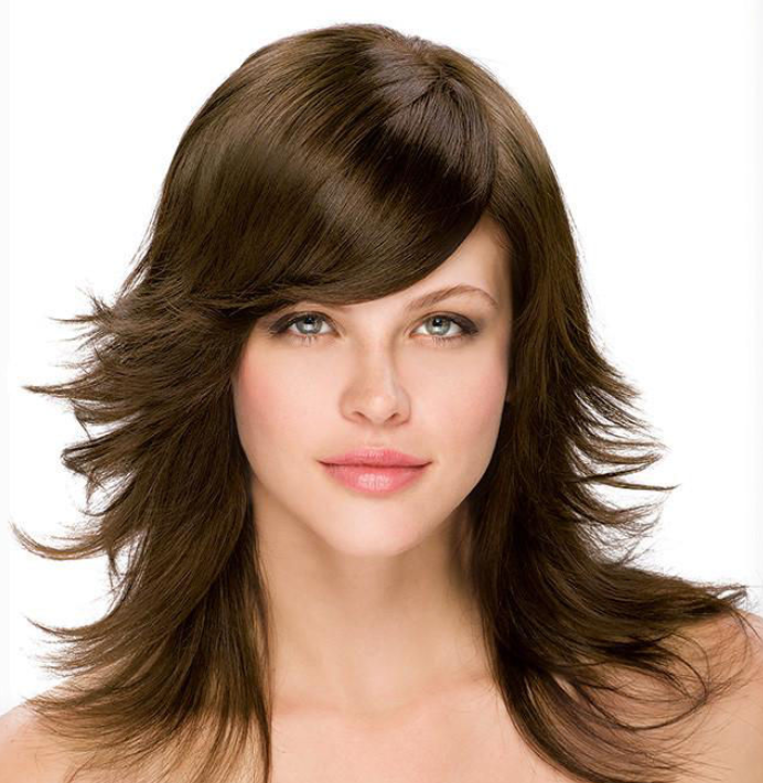 This is the medium brown hair shade often imagined when people picture a brunette. Mysterious, alluring with that serious shine; this brown hair shade looks great with any skin tone, eye color and is more common than almost any other brown hair color out there. This may tie into the stereotype. But that doesn't make it anything less than beautiful! Individuals with this particular shade are so much more than those stereotypes. Hazelnut Brown is simply mysterious!