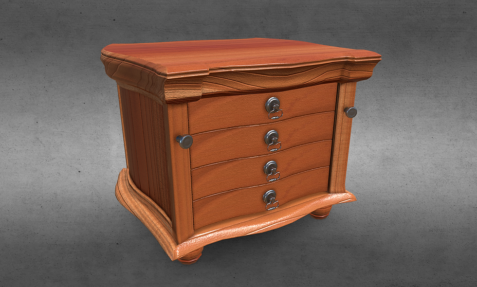 Victorian Dresser Drawer (American Cherry Wood)