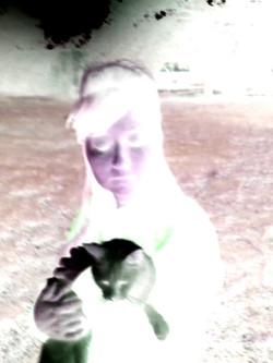 Sonya With White Hair