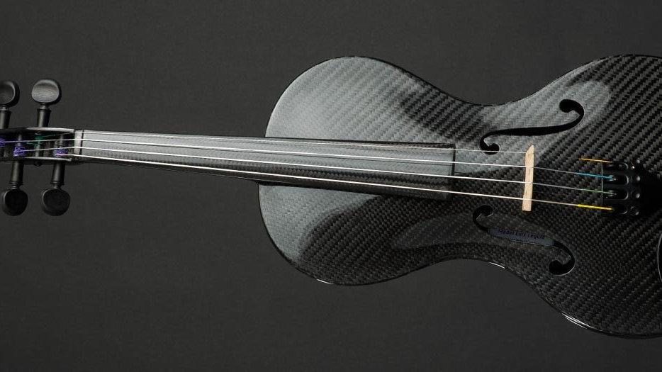4/4 Full Size Carbon Fiber Acoustic Violin