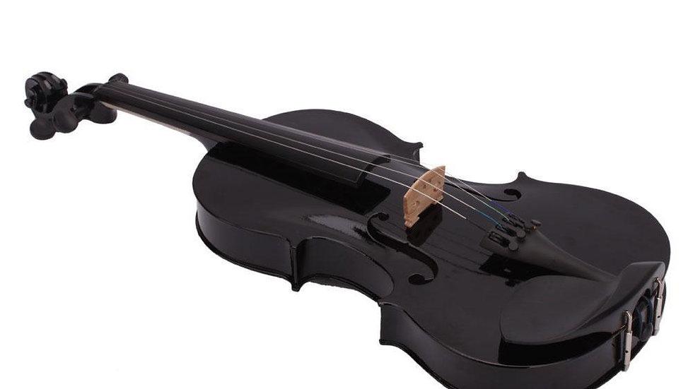 Black 4/4 Full Size Acoustic