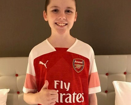 It's 'Gunner' be a good Sporting Wish!