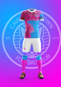Caversham Town's away kit, designed by Sports Connections Foundation's very own Jackson!