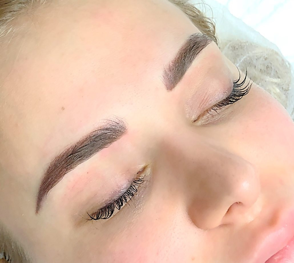 Microblading to Ombre Brows 1st Session