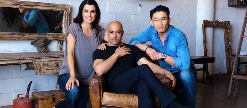 Bleu Griffin Design shoot with Iron Man Faran Tahir