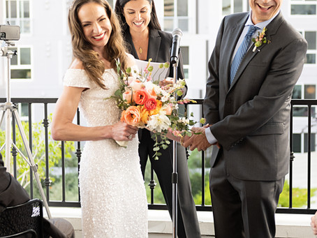 Marrying my dear clients at #RedBirdLA