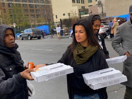 Feeding the #homeless on #skidrow with #berriskitchenhollywood