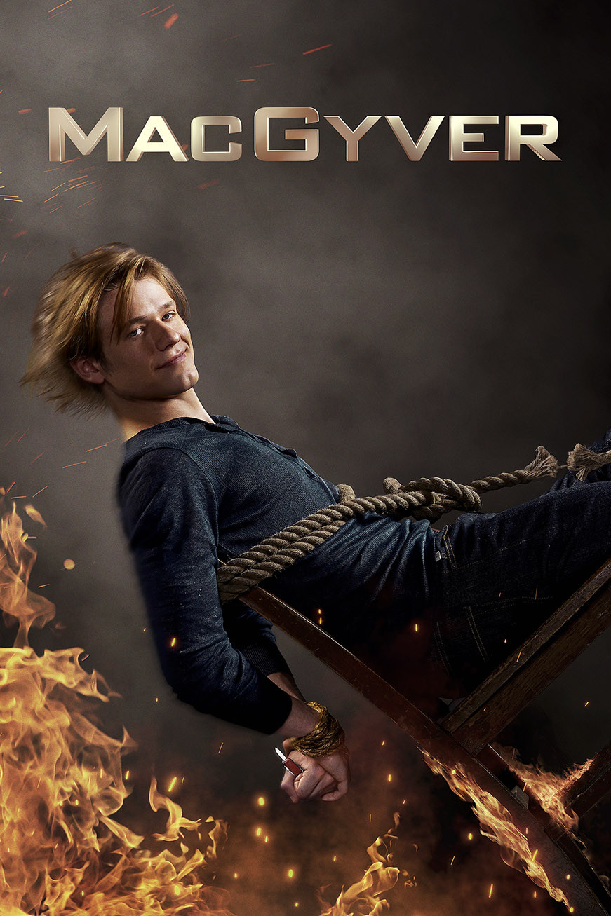 The poster for the Macgyver TV show