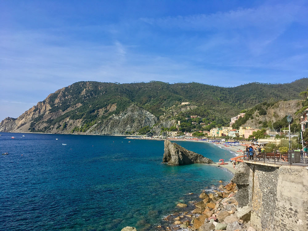 A photograph of Cinque Terre in Italy