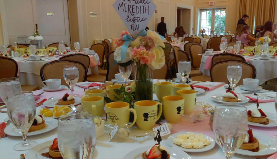 The Tea for Two tablescape