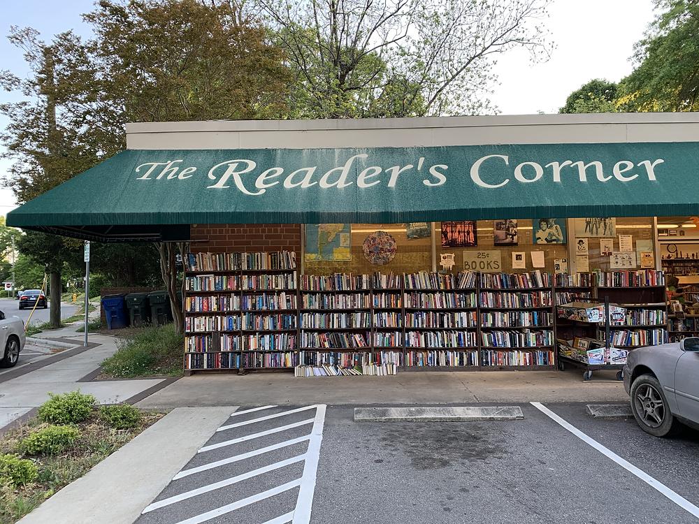 The Reader's Corner storefront