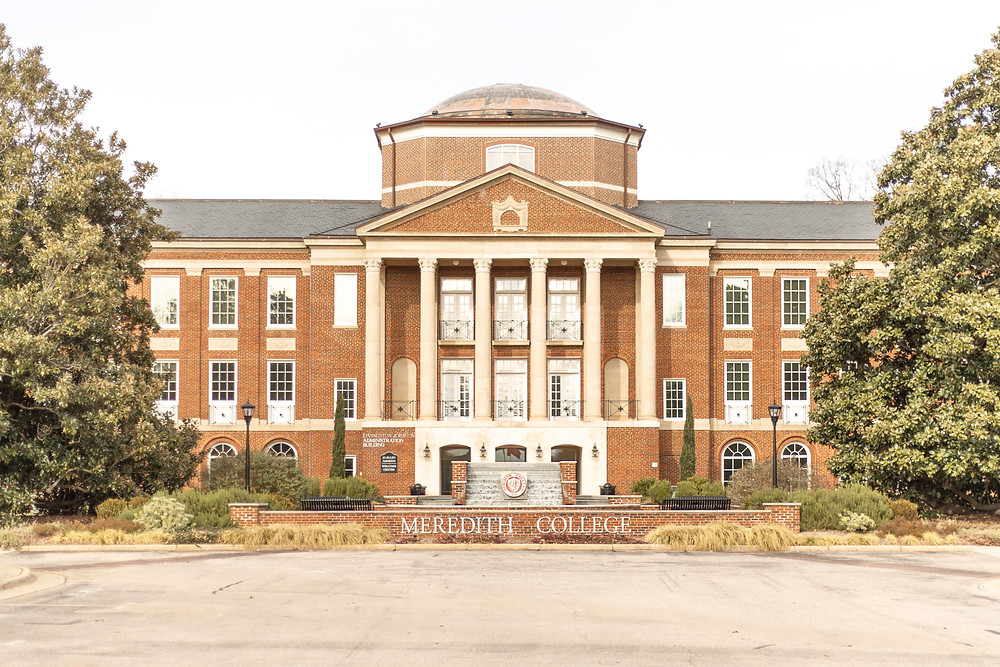 Meredith College's Johnson Hall