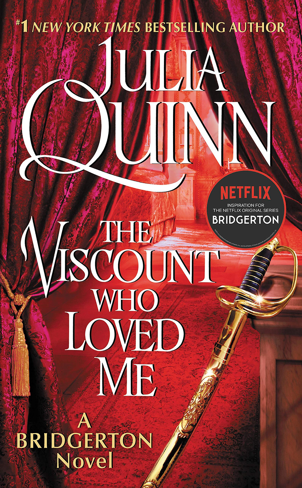 """The cover of """"The Viscount Who Loved Me"""" by Julia Quinn"""
