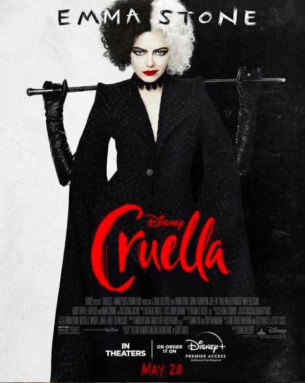 The movie poster for Cruella