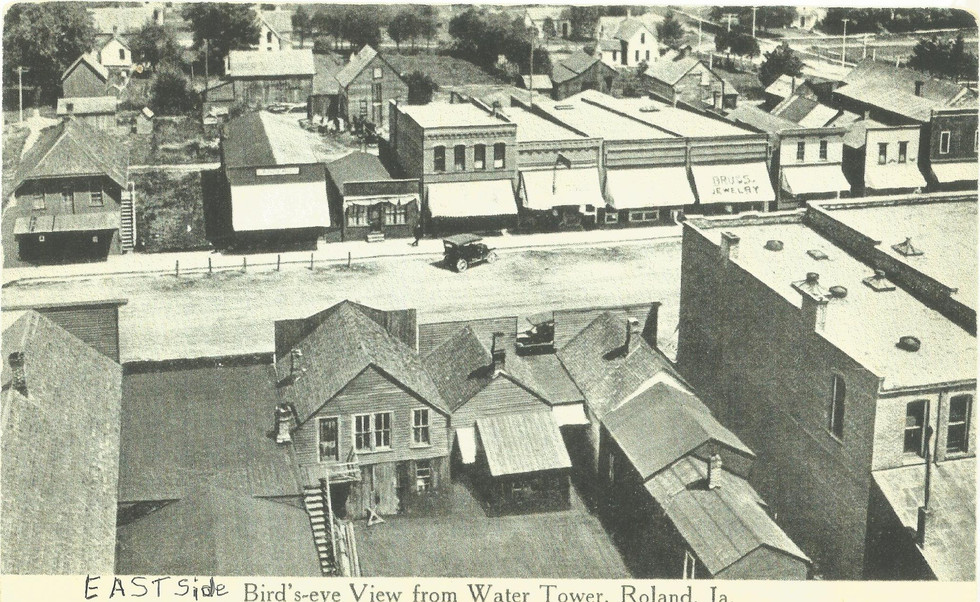 East Side Main Street Taken From the Water Tower