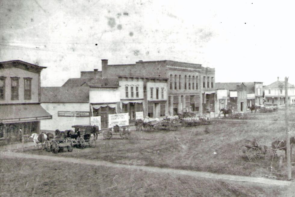 West Side of Main Street looking Northwest