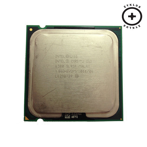 Processador Intel E6300 Core 2 Duo 1.86 Ghz 3 Mb 1066 Mhz