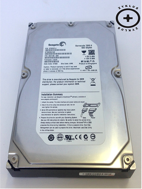 Hd Seagate Barracuda Sata 500gb