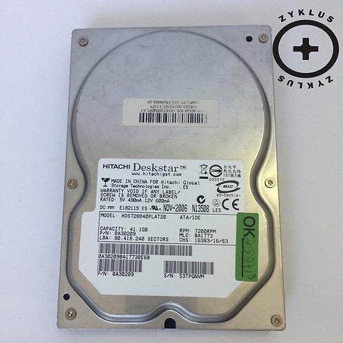Hd Hitachi Deskstar 41.1 Gb