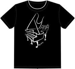 Silk screened tee shirts.