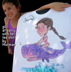 T-shirt art of all kinds