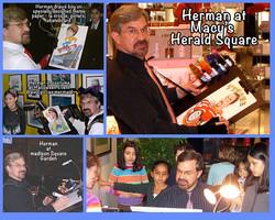Hermann at Herald Square.