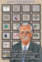 Artwork showcasing career achievements
