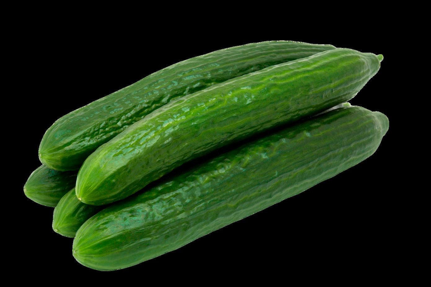 organic seedless cucumber