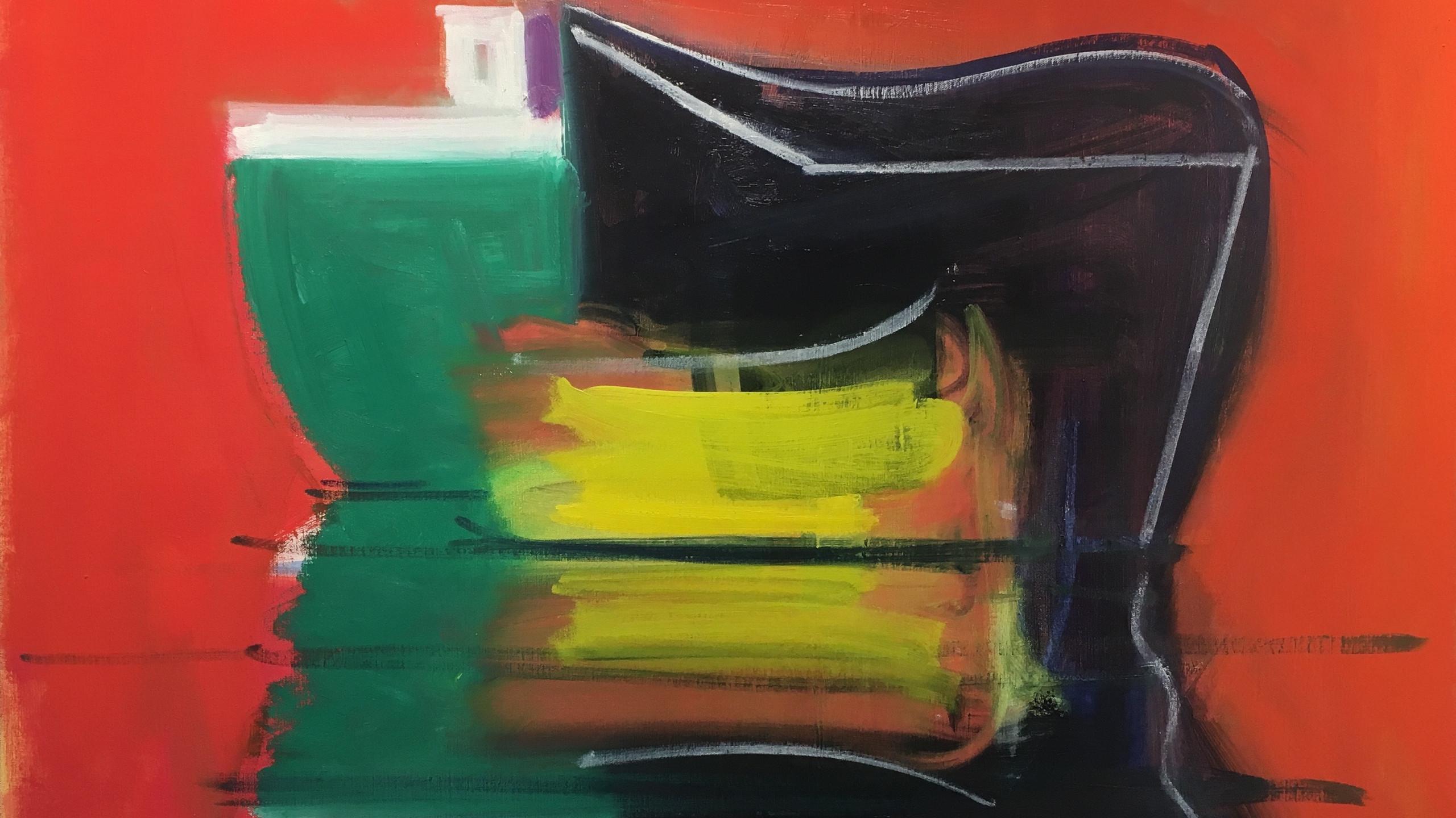 Paul Resika_Vessels_oil on canvas 32 x 40_Courtesy Berta Walker Gallery